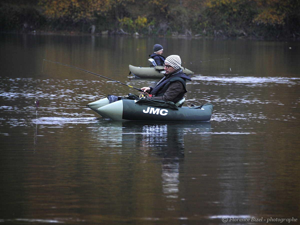 pêche float-tube
